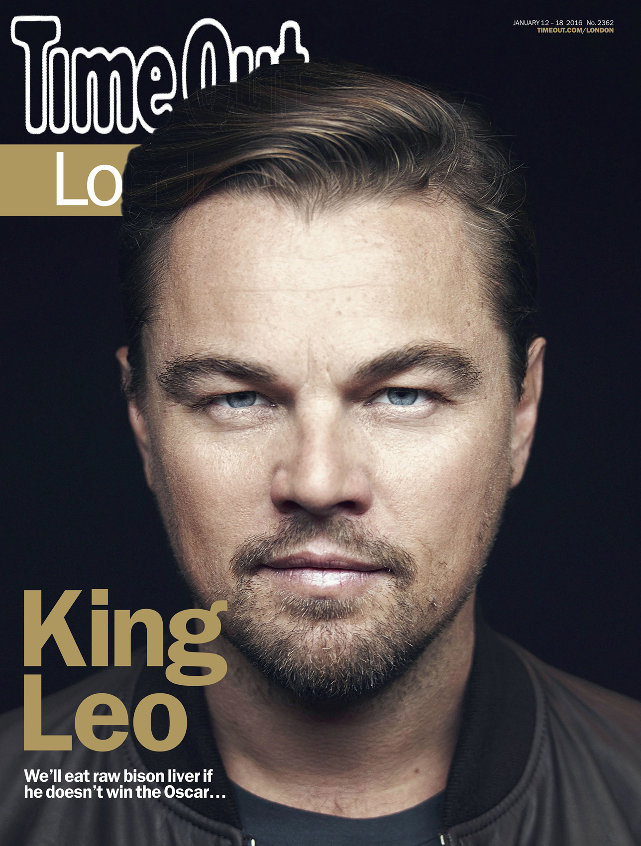 2362 COVER Leo Dicaprio.indd